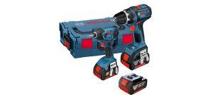 Bosch 0615990GF9 18V Li-Ion accu boor-/schroefmachine (GSR 18 & GDR 18) set  (3 x 4.0Ah accu) in L-Boxx