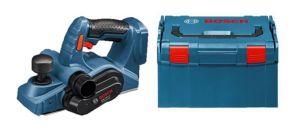 Bosch GHO 18 V-Li SOLO 18V Li-Ion accu schaafmachine body in L-Boxx - 82mm - 1,6mm - 06015A0300