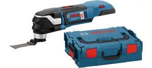 Bosch GOP 18 V-28 18V Li-Ion Accu multitool body + accessoire in L-Boxx - koolborstelloos - 06018B6001