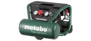 Metabo Power 180-5 W OF Compressor - 1100W - 8 bar - 5L - 75 l/min