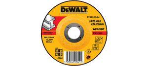 DeWalt DT42320 Afbraamschijf met verzonken centrum - 125 x 6mm - Metaal - DT42320-XJ