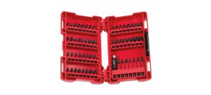 Milwaukee 4932430581 / 4932430907 56 delige Shockwave bitset
