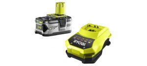 Ryobi RBC18L50 18V Li-Ion accu starterset (1x 5.0Ah) + lader - 5133002601