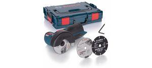 Bosch GWS 10,8-76 V-EC SOLO 10.8V Li-Ion accu haakse slijper body in L-Boxx - koolborstelloos - 06019F2003