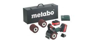 Metabo S 18 LTX 115 Set 18V Li-Ion accu satineermachine set (2 x 4.0Ah accu) in koffer - 600154870