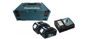 Makita 196693-0 Starterset 18V 2x 3.0Ah accu + oplader in MBox - BL1830  - DC18RC