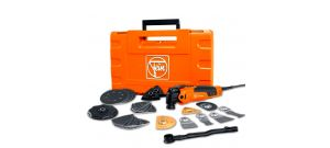 Fein FMM 350 QSL Multimaster Top Multitool + 41 delige accessoireset in koffer - 350W - 72295261000