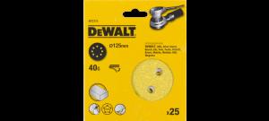 DeWalt DT3111 Schuurschijf - P40 - 125mm (25st) - DT3111-QZ