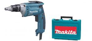 Makita FS6300K gipsschroefmachine in koffer- 570W