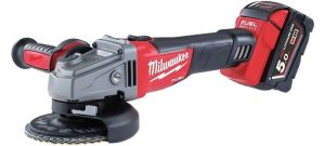 Milwaukee M18 CAG125X-0X 18V Li-Ion Accu haakse slijper body - 125mm - koolborstelloos - schuifschakelaar