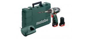 Metabo Powermaxx BS Basic 10.8V Li-Ion accu boor-/schroefmachine set (2x 2.0Ah accu) in koffer - 600080500