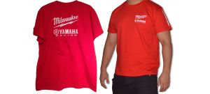 Milwaukee Super Fit T-Shirt maat M/L - 100% katoen (wtg)