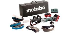Metabo RB 18 LTX 60 SET 18V Li-Ion Accu buizenslijpmachine + accessoire set (2x 4.0Ah accu) in koffer - 60019287