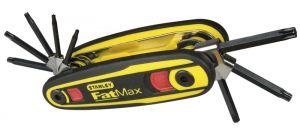 Stanley 0-97-553 FatMax 8-delig stiftsleutelset TORX - Vergrendelbaar
