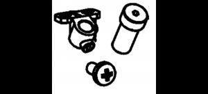 Metabo 343436070 laser met houder voor KGS - 343436070