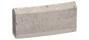 """Bosch 2608601384 Vervanging segmenten voor diamantboorkronen voor nat boren 1 1/4"""" UNC Best for Concrete -"""