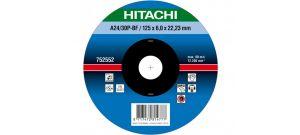 Hitachi 752551 Afbraamschijf - 115 x 6mm - Metaal - A24/30P