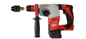 Milwaukee HD18 HX-0 18V Li-Ion accu SDS-plus combihamer + snelspanboorkop body – 2,4J - 4933408320