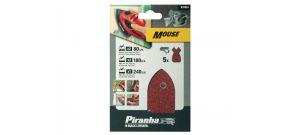 Black and  Decker X31024 5 delige Piranha Mouse accessoire set