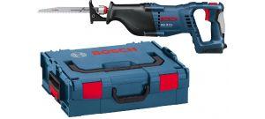 Bosch GSA 18 V-LI SOLO 18V Li-Ion accu reciprozaag body in L-Boxx - snelwissel - variabel - 060164J007