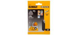 DeWalt DTM3093 Mesh Schuurgaas Delta - K120 - 93x93mm - (5st) - DTM3093-QZ