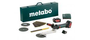 Metabo KNS 18 LTX 150 SET 18V Li-Ion accu binnenhoekslijper set (2x 5.2Ah accu) in koffer - 600191880