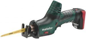 Metabo Powermaxx ASE 10.8V Li-Ion accu reciprozaag set (2x 4.0Ah accu) in Metaloc - snelwissel