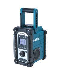Makita DMR107 7.2-18V Li-Ion Accu bouwradio - werkt op netstroom & accu