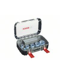 Bosch 2608580882 9-Delige Gatzagenset - 20 x 25 x 32 x 38 x 51 x 64mm
