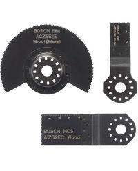 Bosch 2608662343 3-delige Multitoolset