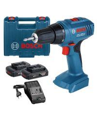 Bosch GSR 1800-LI 18V Li-Ion accu boor-/schroefmachine set (2x 1.5Ah accu) in koffer - 06019A8305