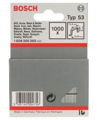 Bosch 1609200365 Type 53 Niet met fijne draad - 11,4x0,74x8mm (1000st)