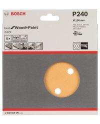 Bosch 2608605091 Schuurschijf C470 - K240 - 150mm (5st)
