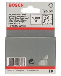 Bosch 1609200368 Type 53 Niet met fijne draad - 11,4x0,74x14mm (1000st)