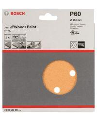 Bosch 2608605086 Schuurschijf C470 - K60 - 150mm (5st)