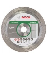 Bosch 2608615020 Best Diamantdoorslijpschijf - 76 x 10 x 1,9mm - keramiek