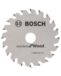 Bosch 2608643071 Optiline Cirkelzaagblad - 85 x 15 x 20T - Hout