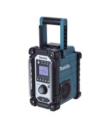 Makita DMR102 9.6-18V Li-Ion Accu bouwradio - werkt op netstroom & accu