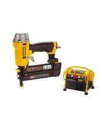 DeWalt DPN1850COMBO Pneumatische afwerk tacker (DPN1850PP) & Compressor (DPC6MRC) combiset - 15-50mm - 4,8-8,3 bar