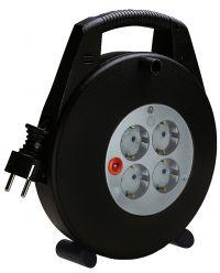 Brennenstuhl 1093200 Vario Line kabelhaspel 4-voudig - H05VV-F 3G1,5 - 10m