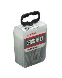 Bosch 2608522186 Pozidrive Bit 25 mm Extra Hard - PH2 (25st)