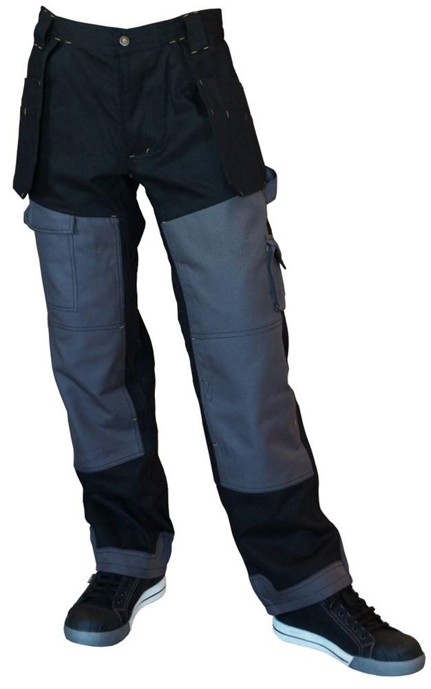 Afbeelding van Be Wear 7.105.46 DLX Werkbroek Zwart Maat 46