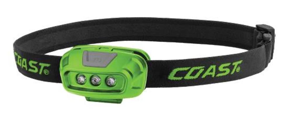 Afbeelding van Coast FL14 Hoofdlamp Groen LED 65mm 37Lm