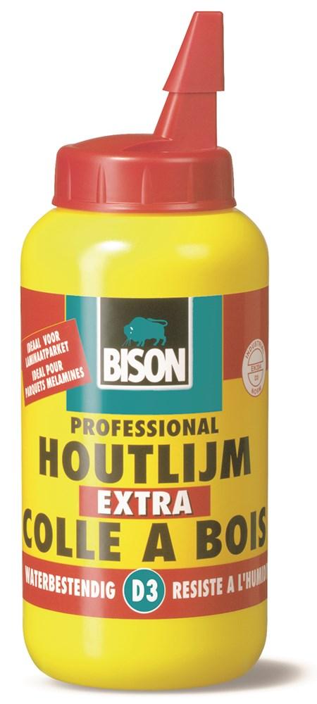 Afbeelding van Bison 1339095 Extra Houtlijm D3 Waterbestendig 750gr