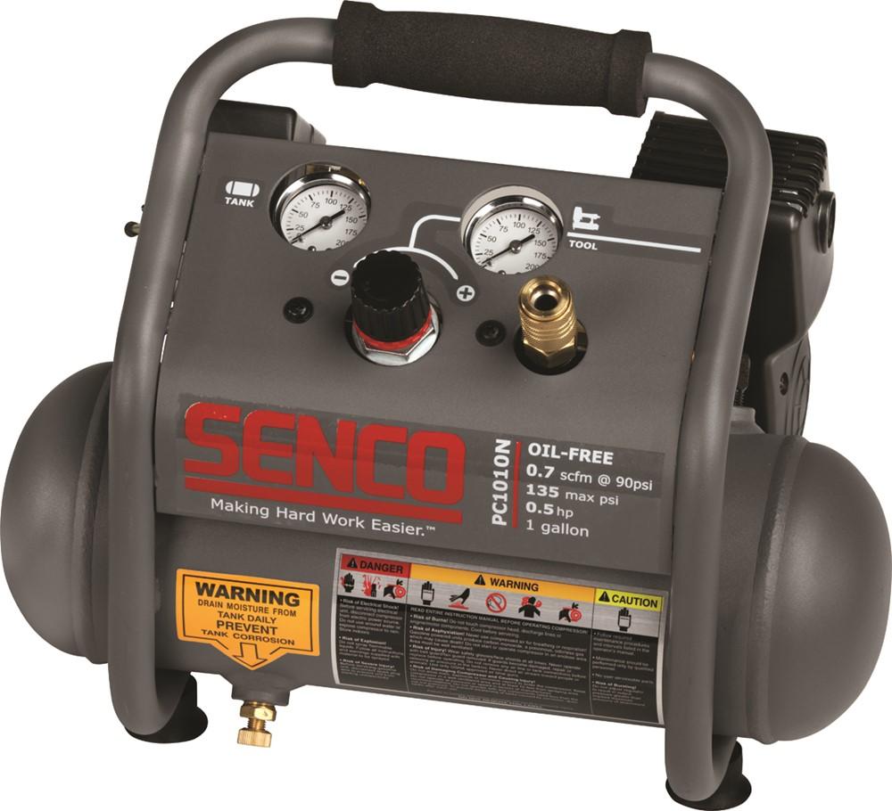 - Senco PC1010NEU Compressor - 300W - 3, 8 l - 9 bar
