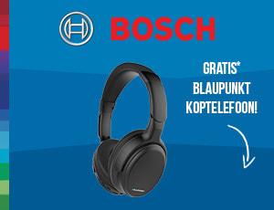 Bosch koptelefoon actie