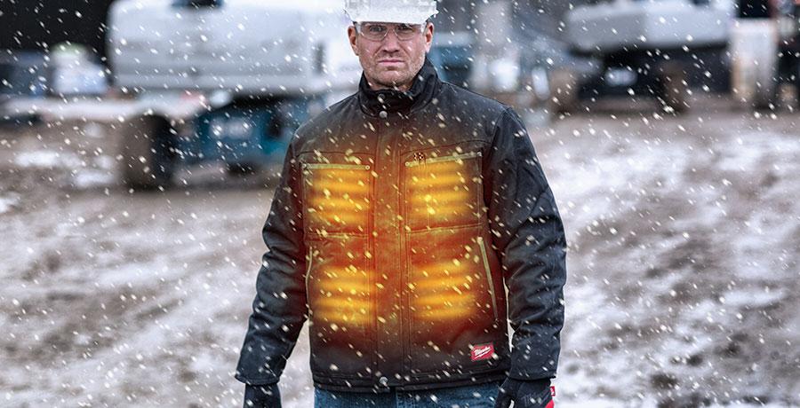 Verwarmde jassen