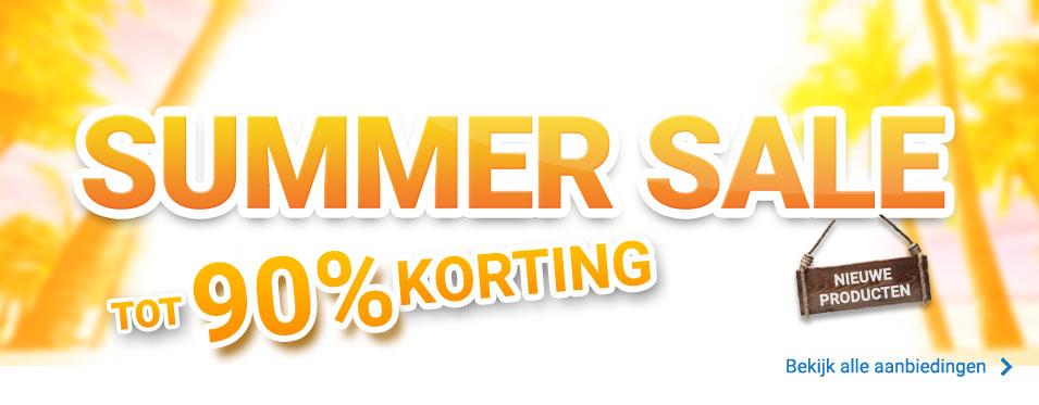 Bekijk de summer sale